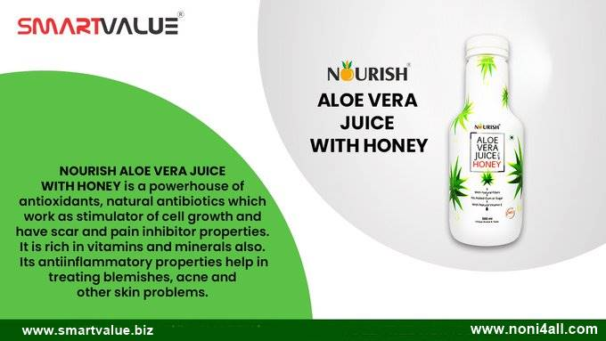 Nourish Aloe vera juice