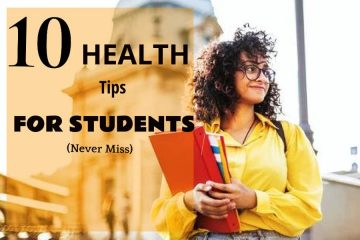 Health tips for students