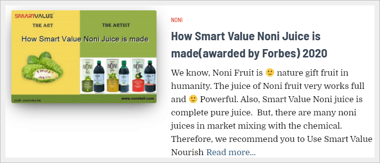 how noni juice made