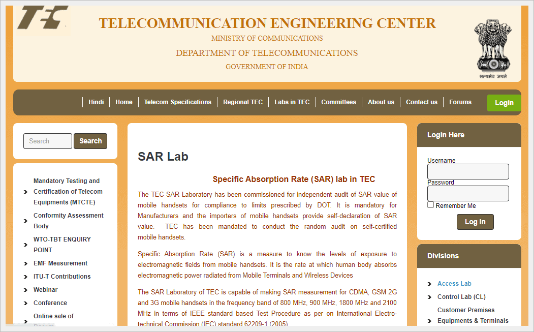 Telecommunication Engineering Center