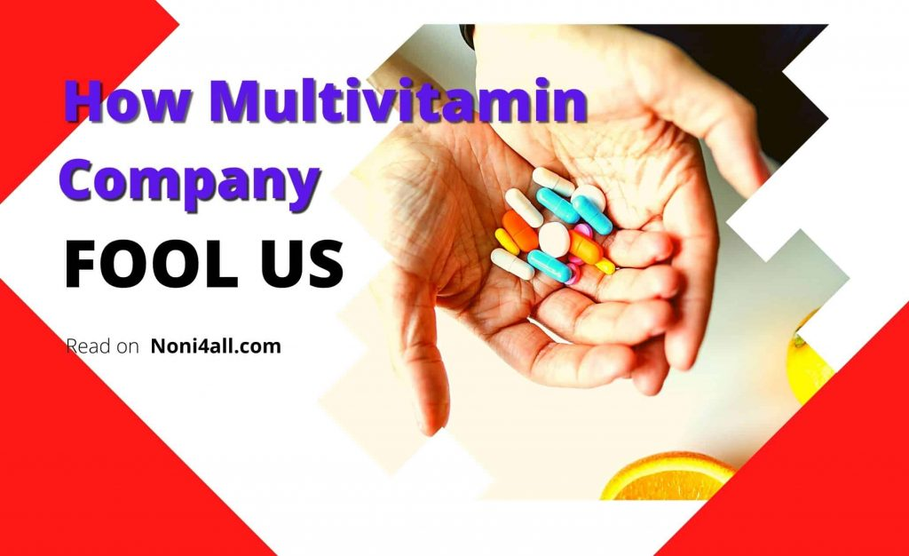 Truth about Multivitamin Industry