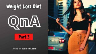 Weight loss diet qna