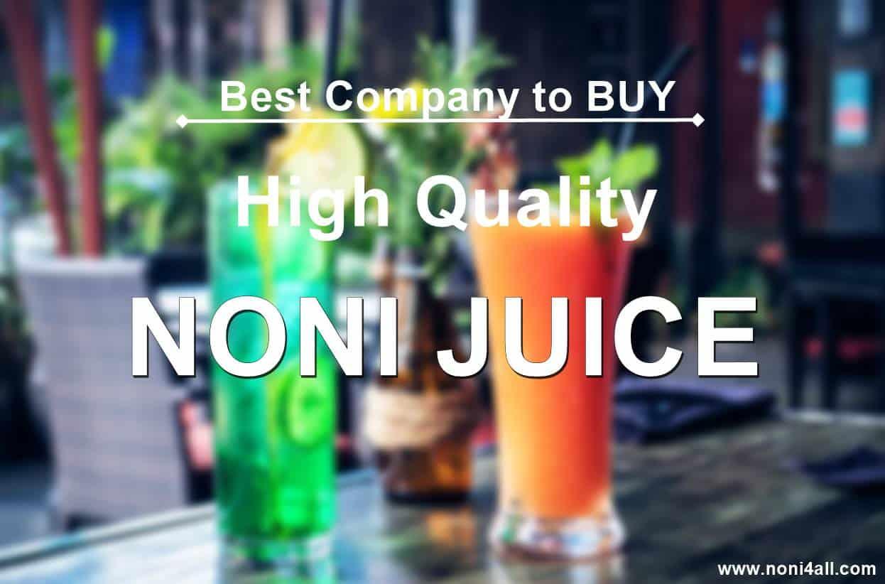 best noni juice