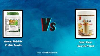 Nutrilite Protein vs Nourish Protein Powder
