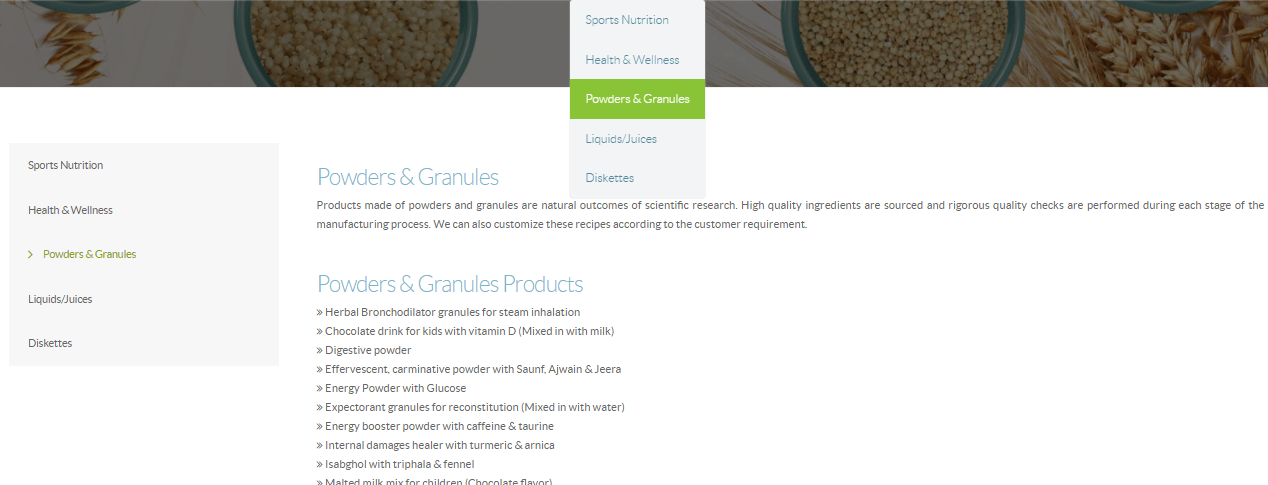 Lifespan Powders & Granules