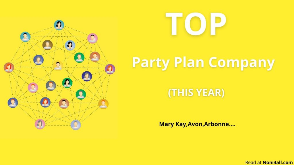 top party plan companies