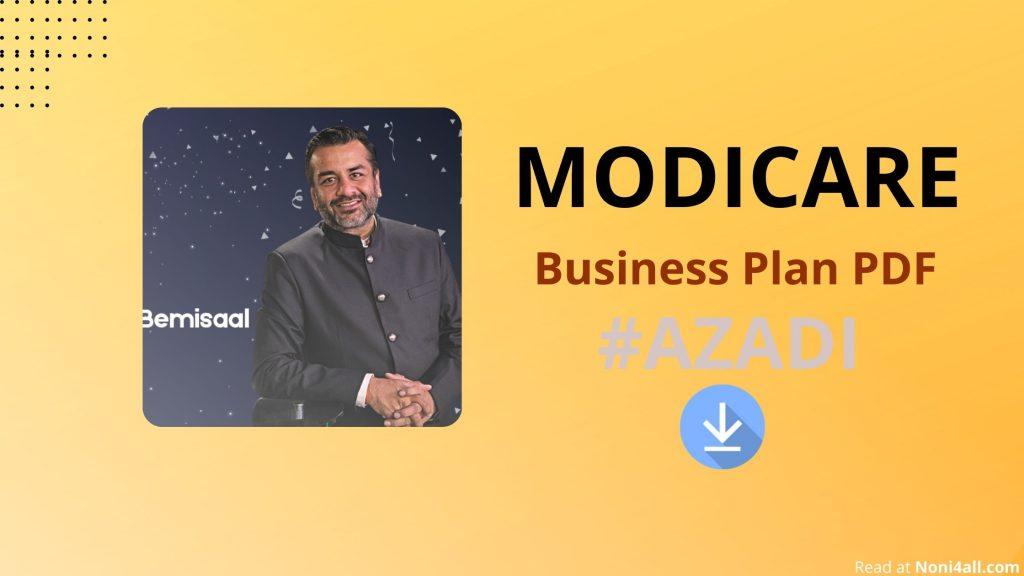 Modicare Business Plan PDF
