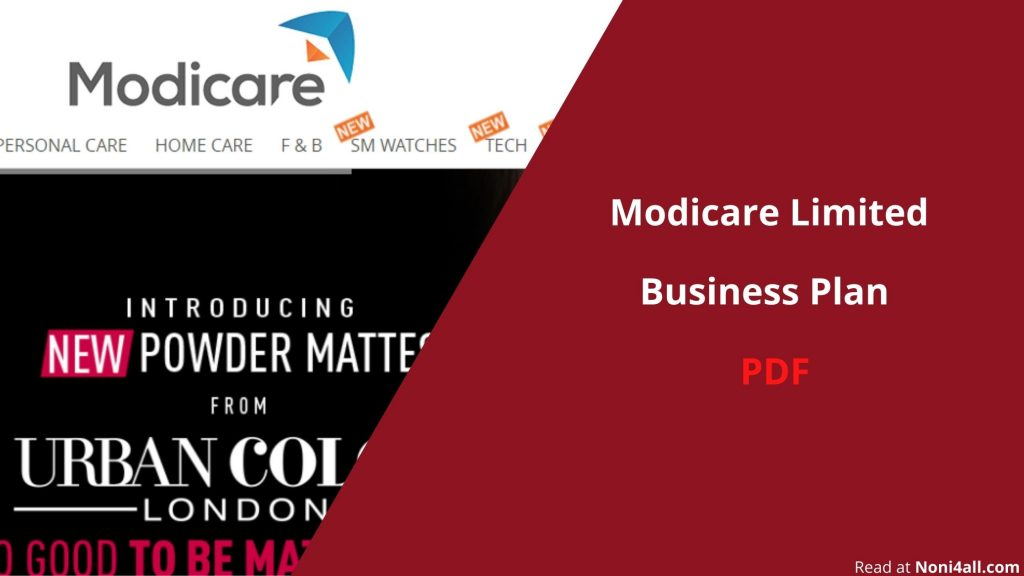 Modicare Business Plan PDF