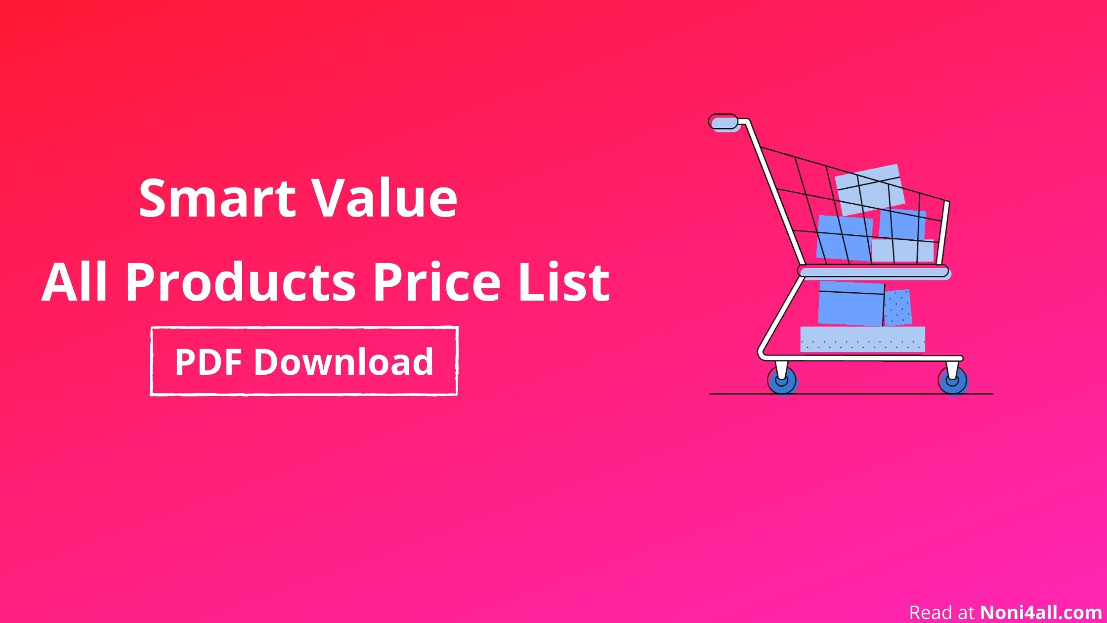 smart value products list