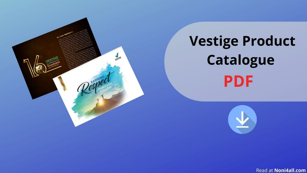 Vestige Product Catalogue