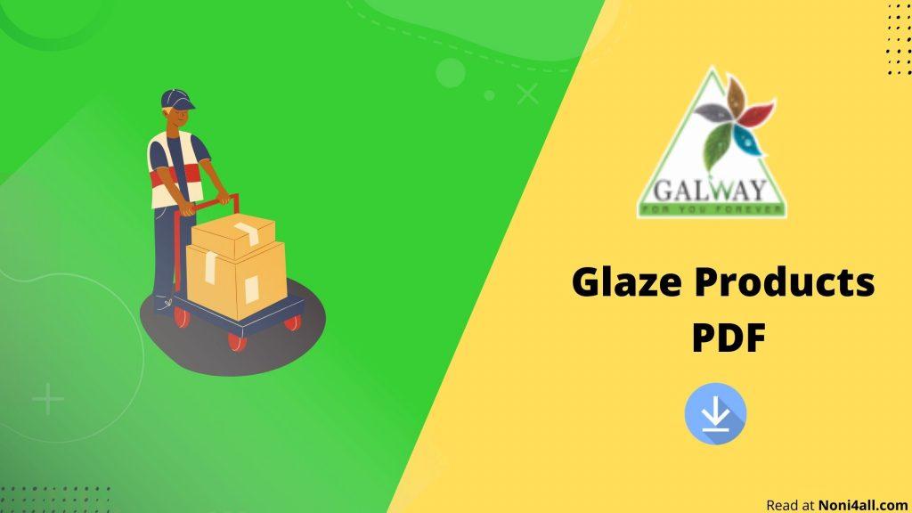 Global Glaze Products Price List