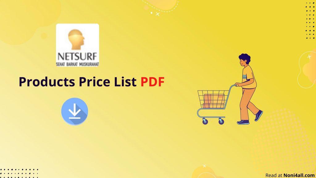 Netsurf Products Price List PDF