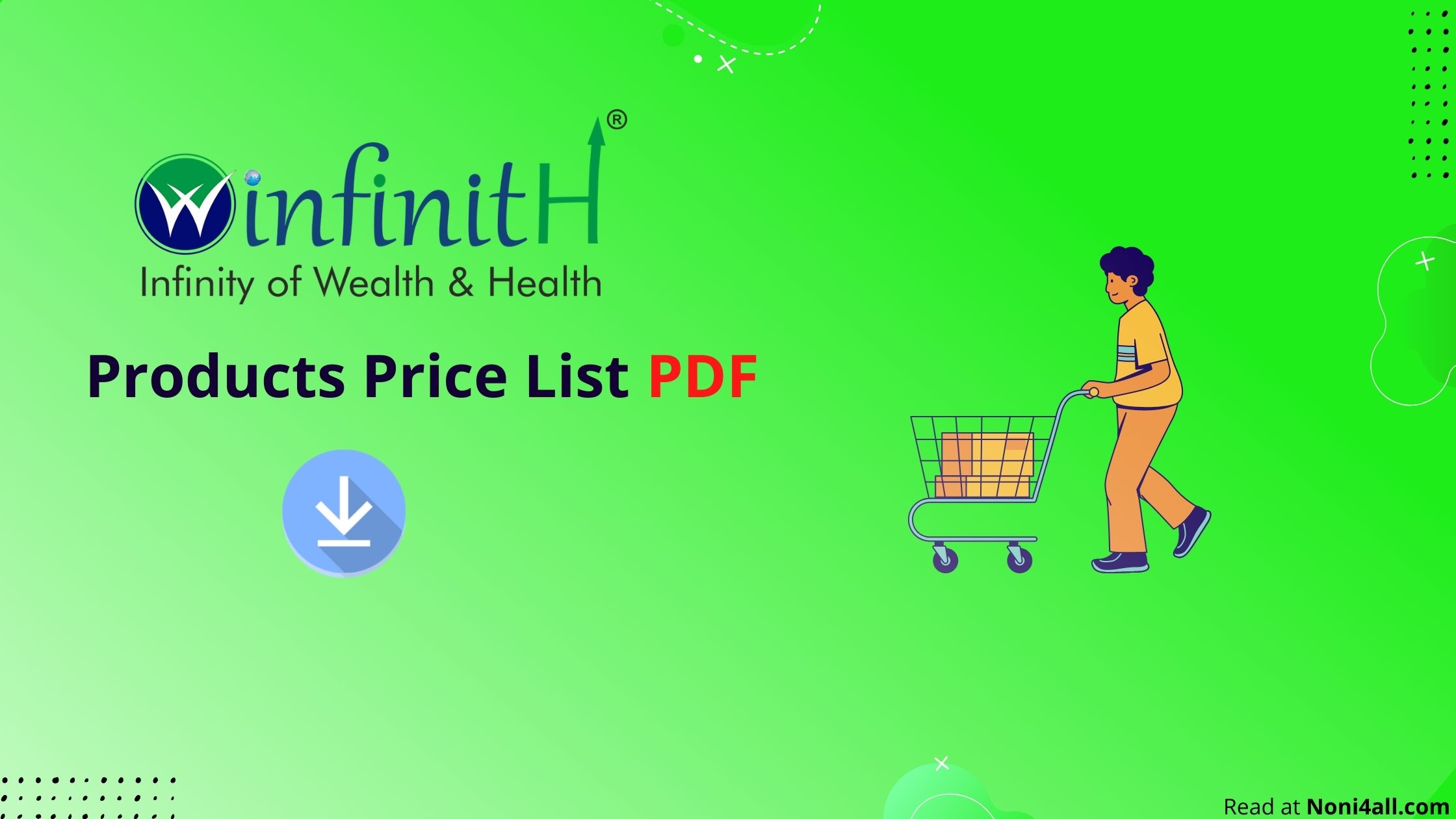 Winfinith Products Price List PDF