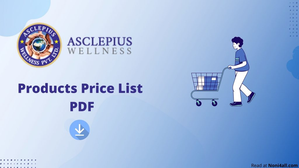 asclepius wellness products price list