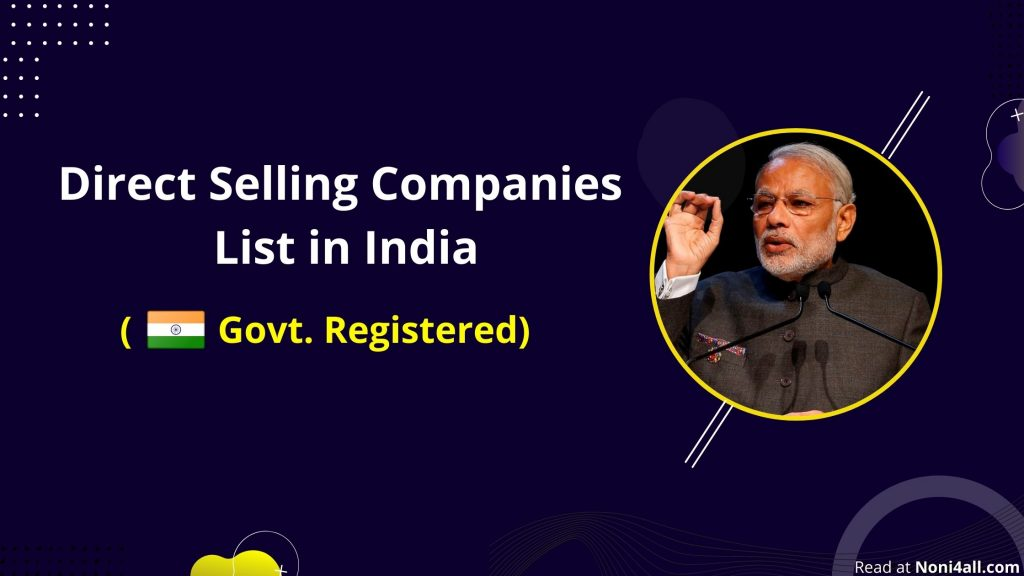 direct selling company list in india