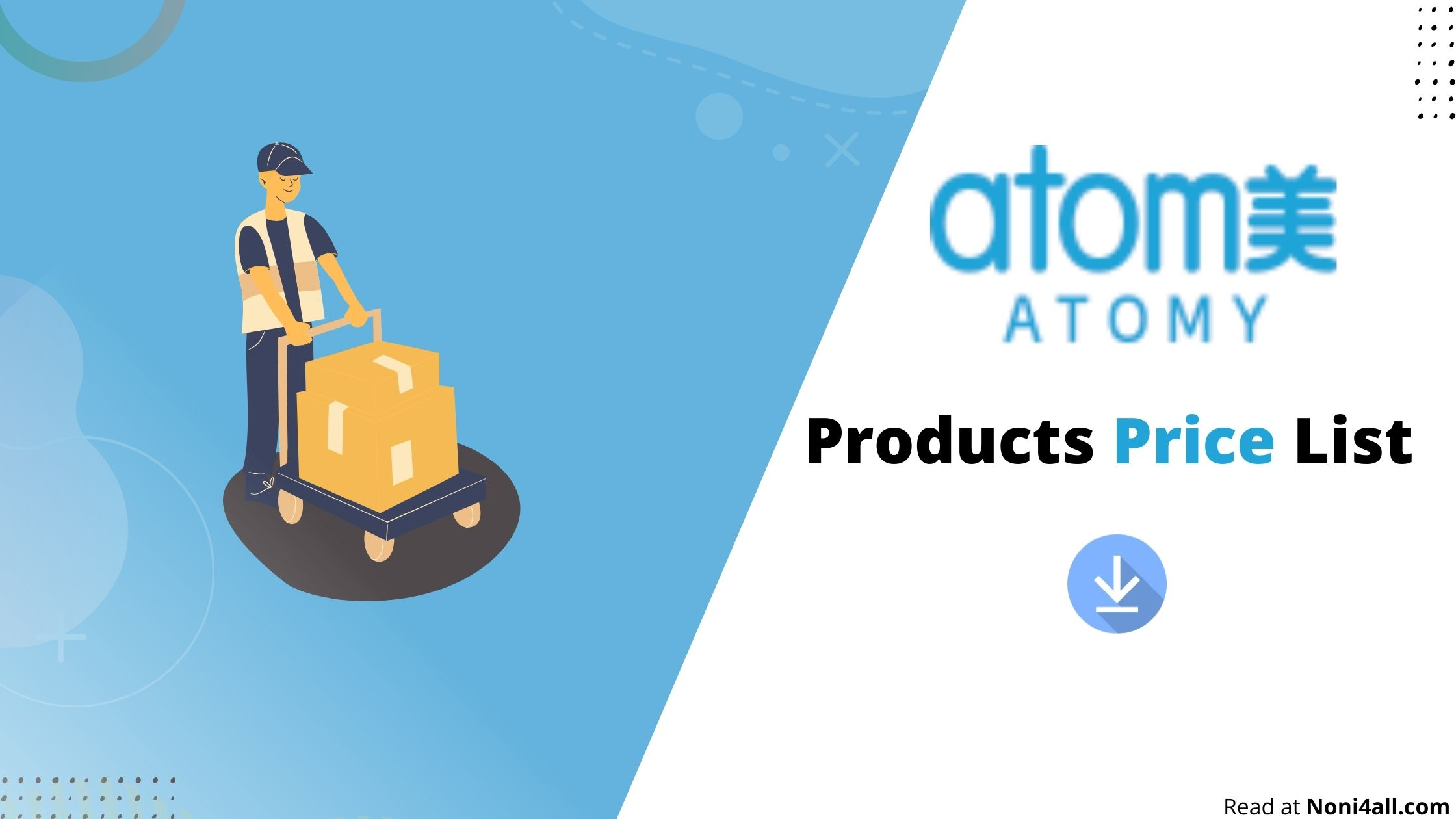 Atomy Products Price List