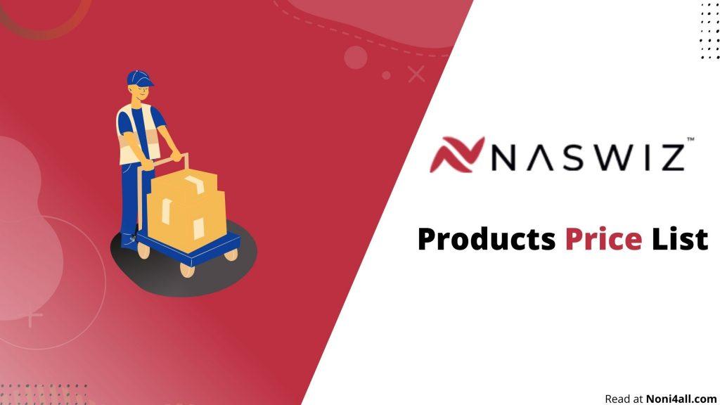 Naswiz Retails Products Price List