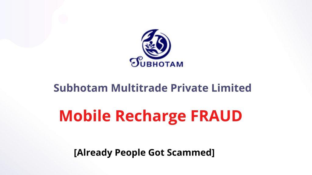 Subhotam Multitrade Pvt Ltd