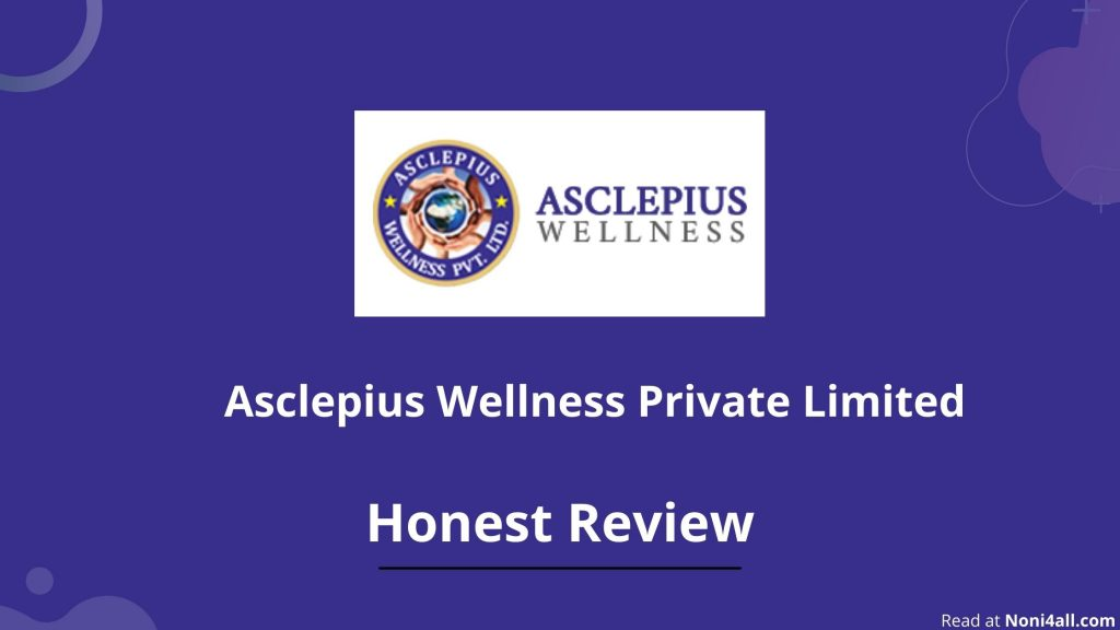 Asclepius Wellness pvt ltd logo appear in this image