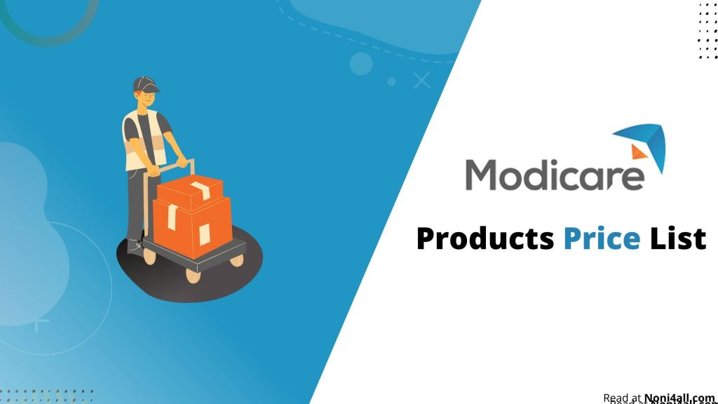 Modicare Products Price List
