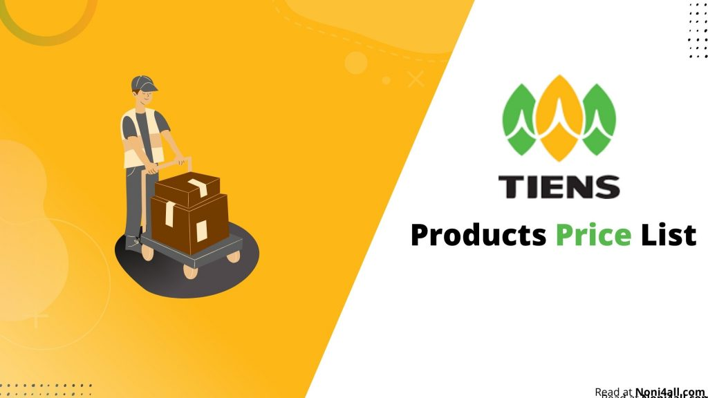 Tiens Products Price List