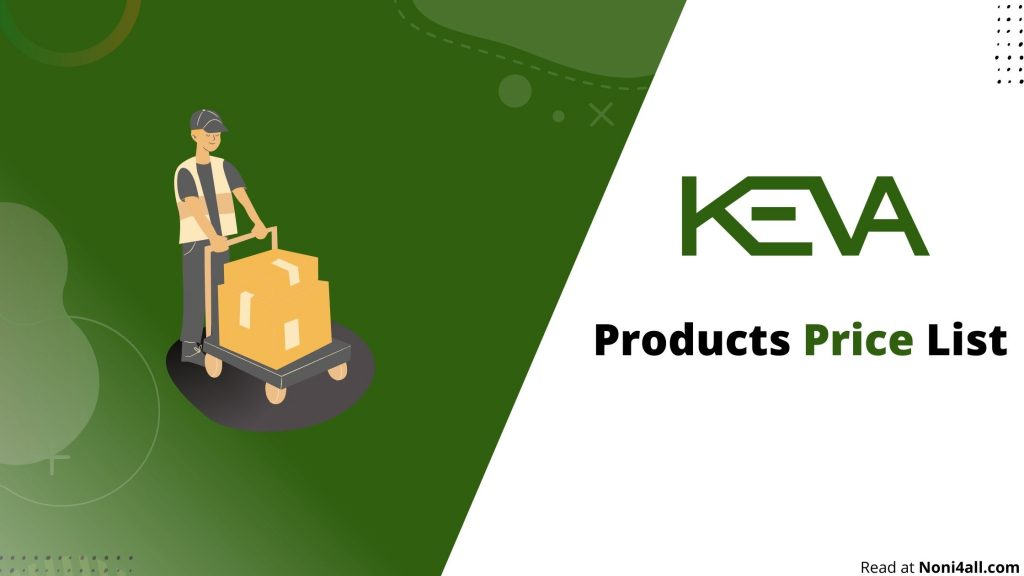 Keva Industries Products Price List