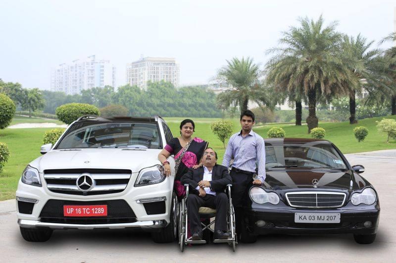 Surekha Bhargava's Car