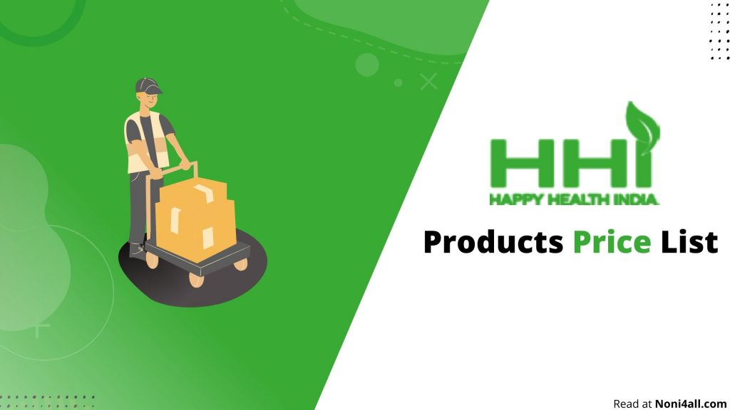 Happy Health India Products List 2021 PDF Download