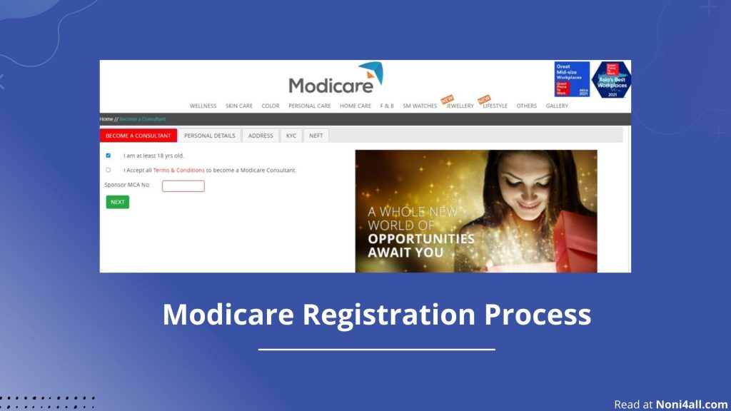 How To Join Modicare? | Modicare Online Registration (2021)